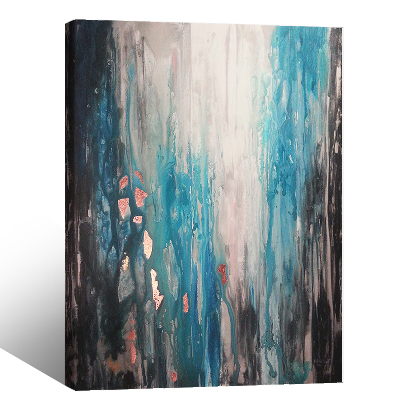 Modern Wall Painting Blue Abstract <strong>Picture</strong> Home Decorative Art <strong>Picture</strong> Printed On Canvas Prints