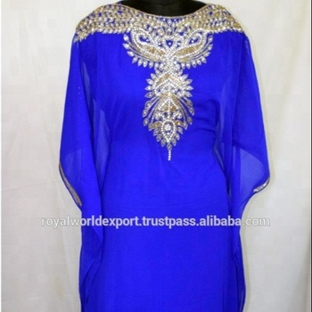 DUBAI FANCY KAFTAN PARTY WEAR FARASHA TRENDY CAFTAN STYLE