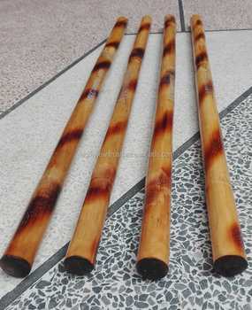 "KALI PHILPINO RATTAN ESCRIMA STICKS WITH LASE ENGRAVING LOGO WEIGHT 220 TO 250 GRAMS SIZE 28"" X 1"""