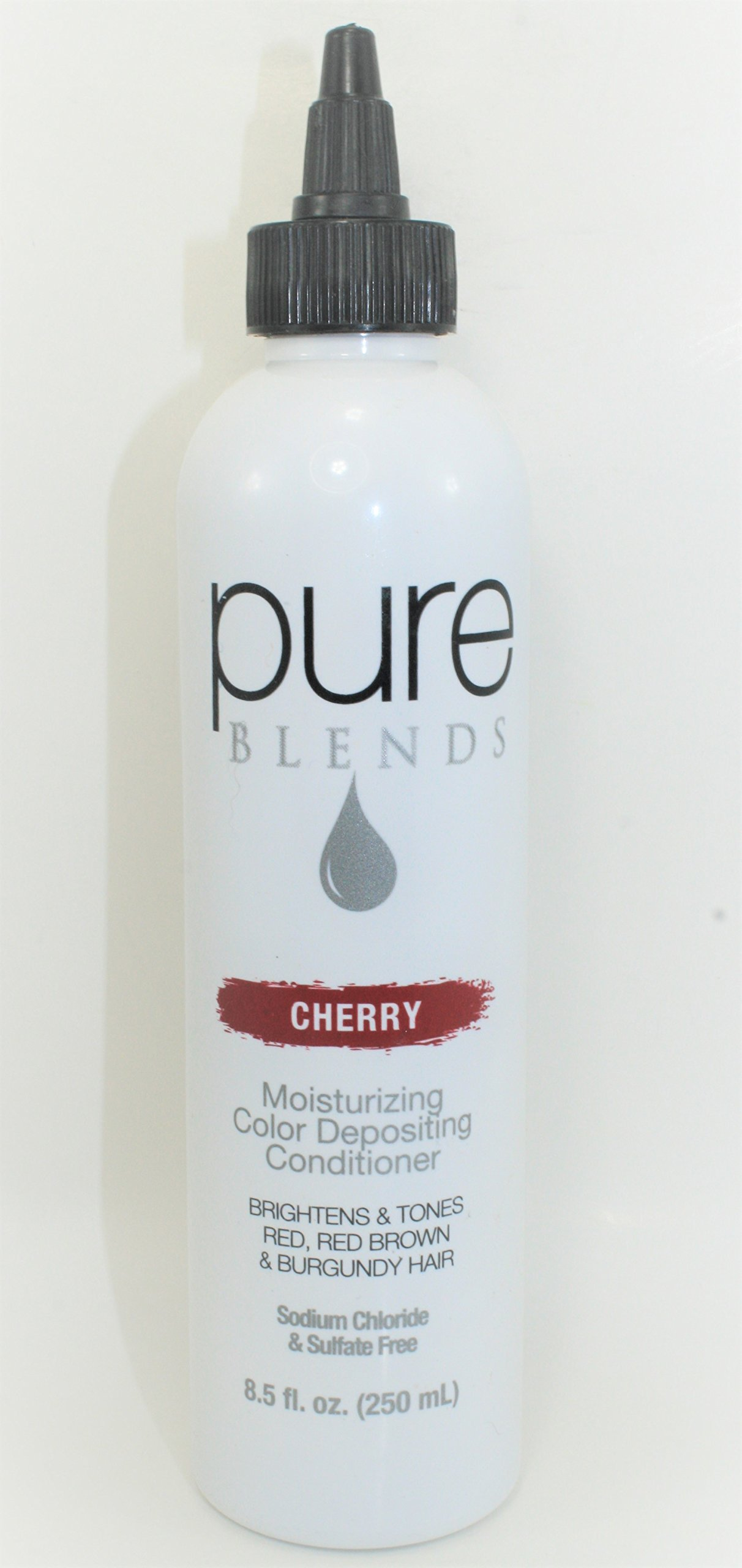 Get Quotations Pure Blends Hydrating Color Depositing Conditioner 8 5 Oz Cherry Red