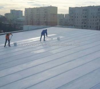 UV Resistant , Super Elastic Waterproofing Roofing Coating