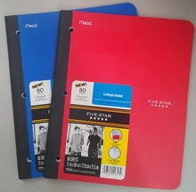 Samenstelling Boek 80 sheets Poly cover CR