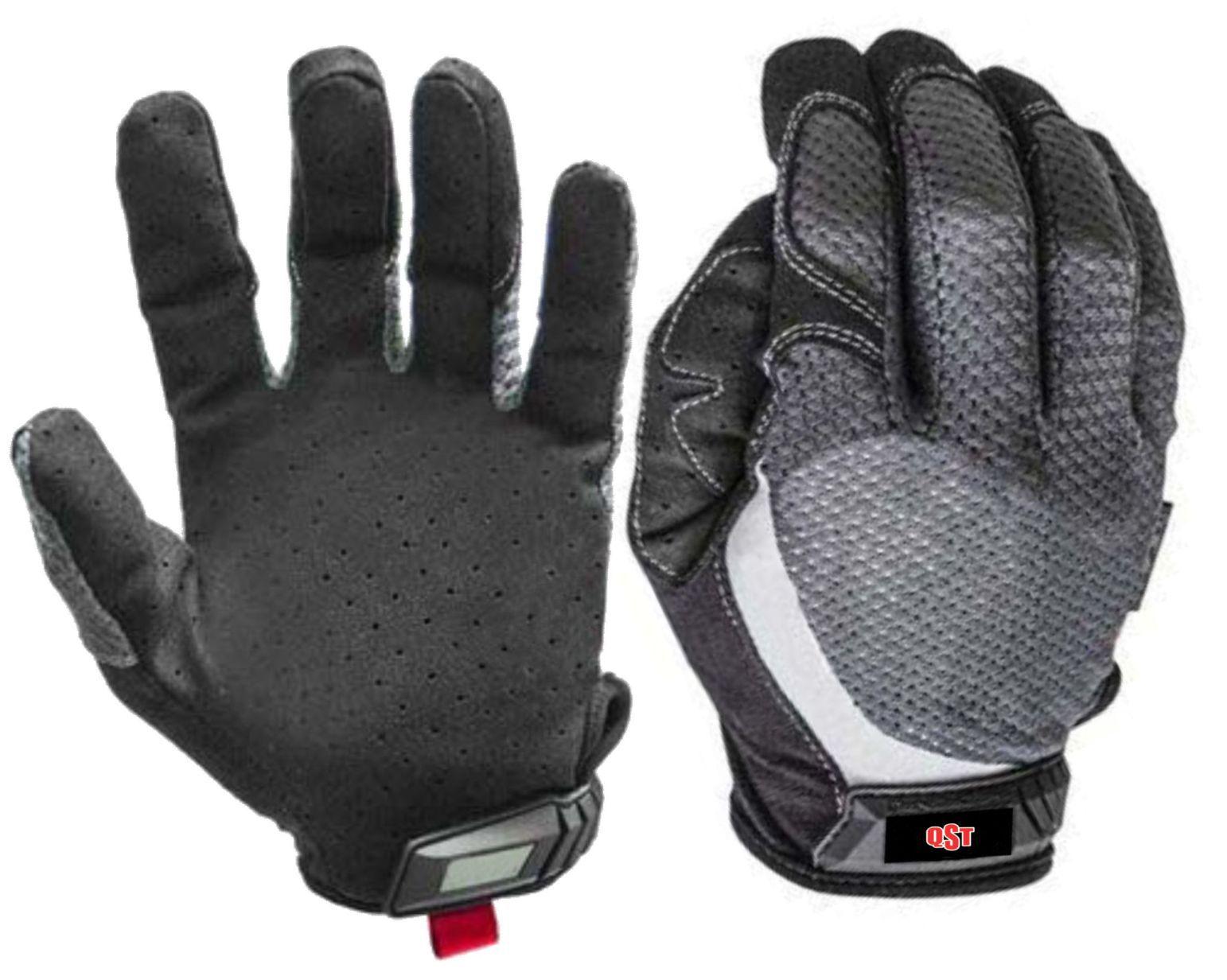 Luvas de levantamento de peso de dedo completo personalizado para treinamento de Crossfit