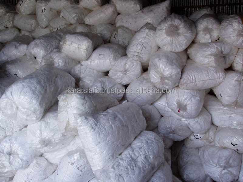 COTTON HOSIERY CLIPS SORTED PER COLOR or MIX COLORS BALES WASTE