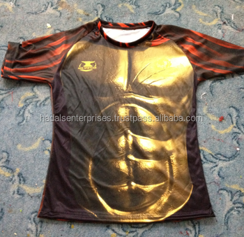 sublimated hot selling custom rugby jersey