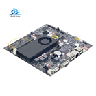 HLY Desktop Motherboard support celeron 1007U Core i3 i5 i7 CPU DDR3 mainboard with LVDS RS232 USB