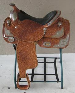 Beautiful Limited Edition Big Horn Show Saddle , Gorgeous Custom Dale  Chavez Seat Western Show Saddle Tons of Silver