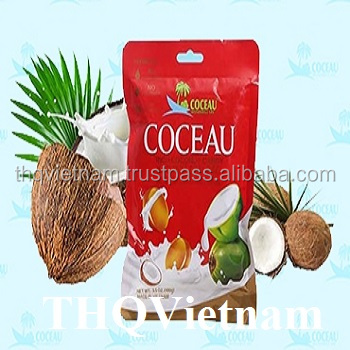 [thq Vietnam ] Coceau Milk Coconut Chewy Candy 100gr*48bags
