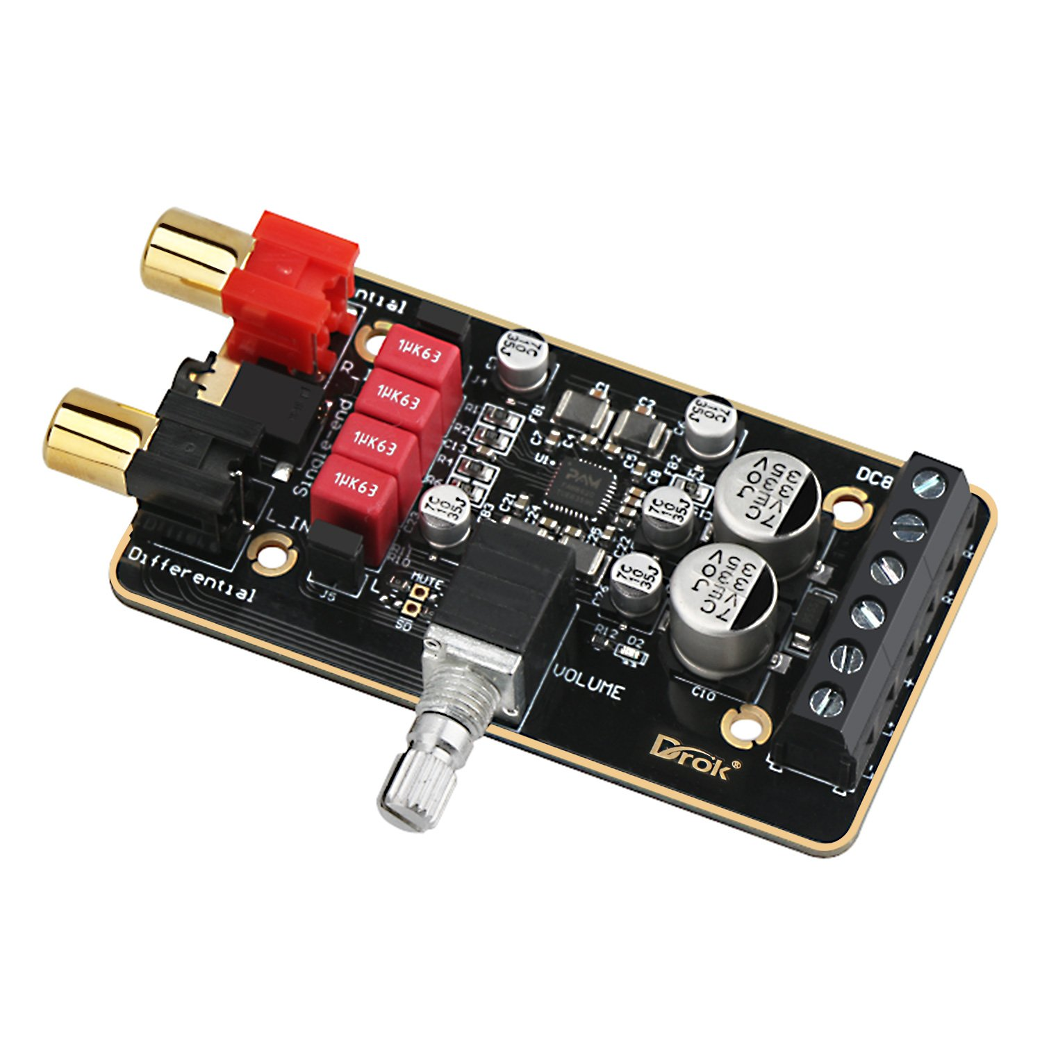 Cheap Class D Power Amplifier Circuit Find Dual Audio Get Quotations 12v Board Drok Pam8620 Digital Stereo Amp Module 15w 20 Channel