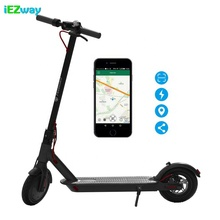 2019 iEZway China Fabriek Nieuw Product 36 V 7.8Ah Wifi APP <span class=keywords><strong>GPS</strong></span> Lock Vouwen 2 Wiel Sharing <span class=keywords><strong>Scooter</strong></span> <span class=keywords><strong>Elektrische</strong></span>