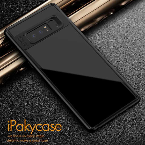 IPAKY Transparent TPU for Galaxy Note 8 Case, Clear TPU Cover for Note 8 iPaky