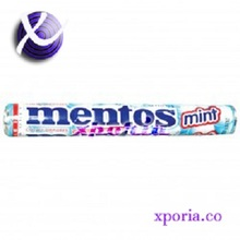 MENTOS Chewy Candy Peppermint 37gr | Indonesia Origin | Cheap popular candy with strong peppermint flavour