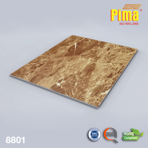 Wall Veneering PVC Marble Sheet For Home Decor