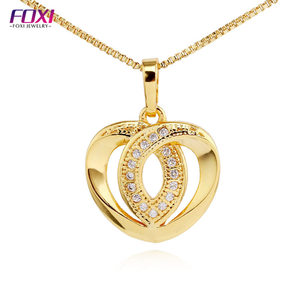 fashion jewelry 2018 latest zirconia pendant jewels