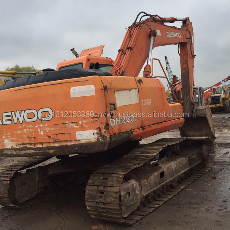 Used 220 Daewoo Excavators, Used 220 Daewoo Excavators Suppliers and
