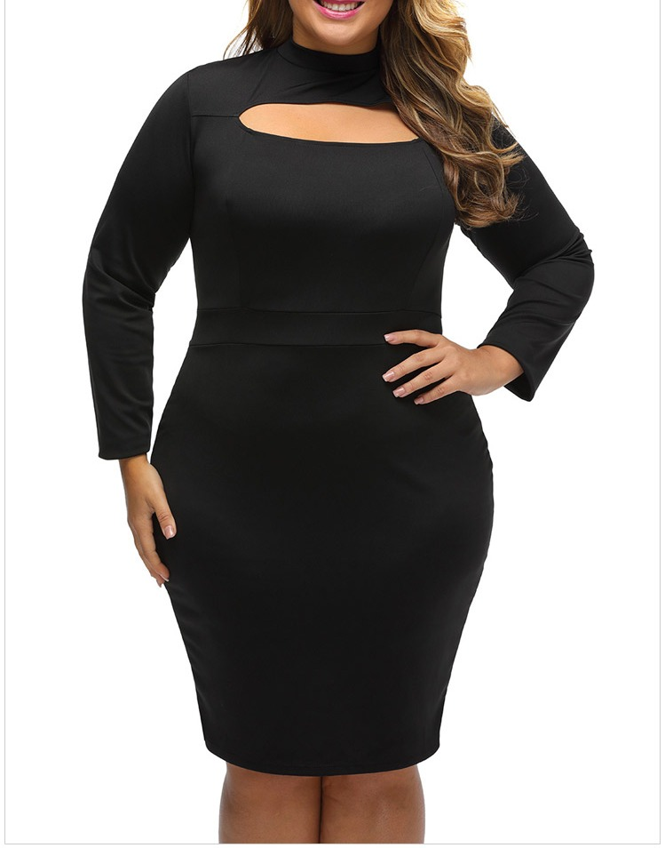 New Sexy Midi Dress Plus Size Slip Bodycon Party Night Dress For