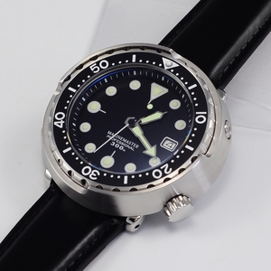 316L Stainless steel NH35 japan automatic movement and 30ATM waterproof watch diver with ceramic ring