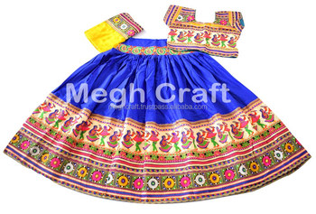 8249e14ec2 Indian Ethnic rabari embroidered Cotton Lehenga Choli-Wholesale Navratri  Chaniya Choli-Gypsy kutch embroidery