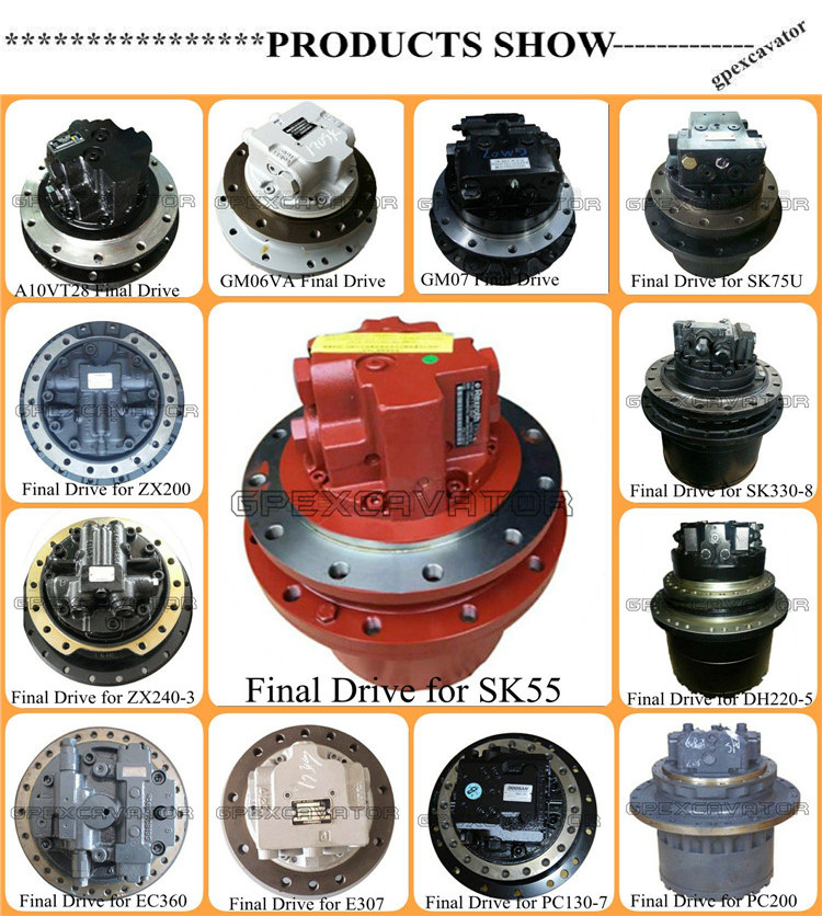 Plentiful stock excavator PC270-7 travel motor assy final drive
