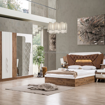 Great Luxury Turkish Modern New Design High Quality Trend Bedroom Sets 2018