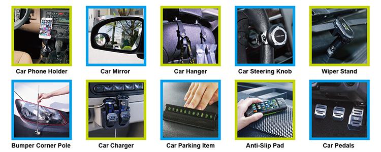 Autositz-Organizer-Entlüfter und Rücksitzablage