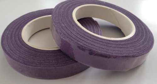 2 Pcs Purple Floral Tape Wraps Tape Florist Tape