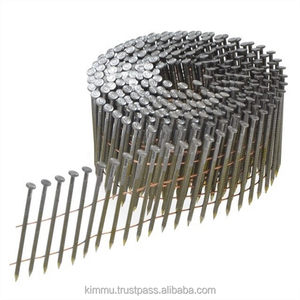 Industrial Grade Factory Price 15 Degree Framing Coil Nails for Pallet