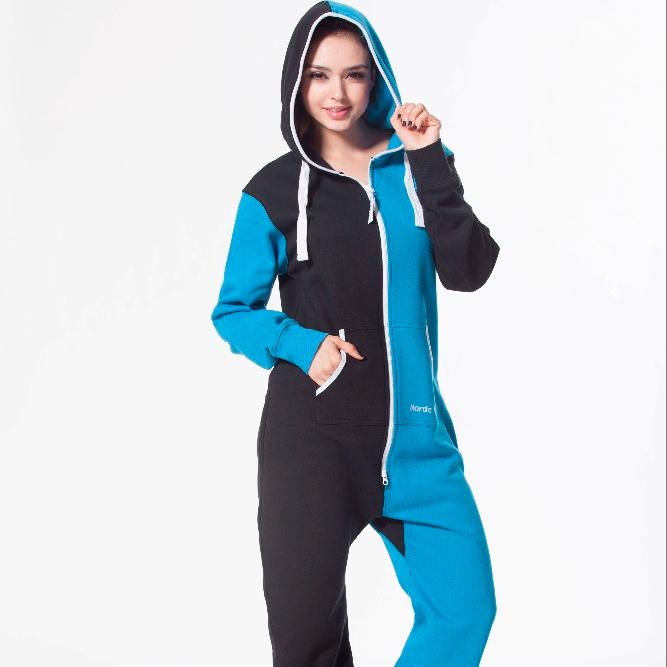 b9d2c6559d27 2017 onesie jumpsuits for women  custom adult onesie plain colour with hood
