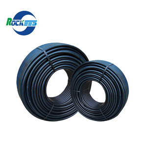 Plumbing Materials Black Plastic Polyethylene 8 inch PE 100 HDPE Water Pipe Manufacture Prices for Drain
