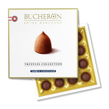 BUCHERON TRUFFLES COLLECTION - Chocolate candy truffle classic from supplier