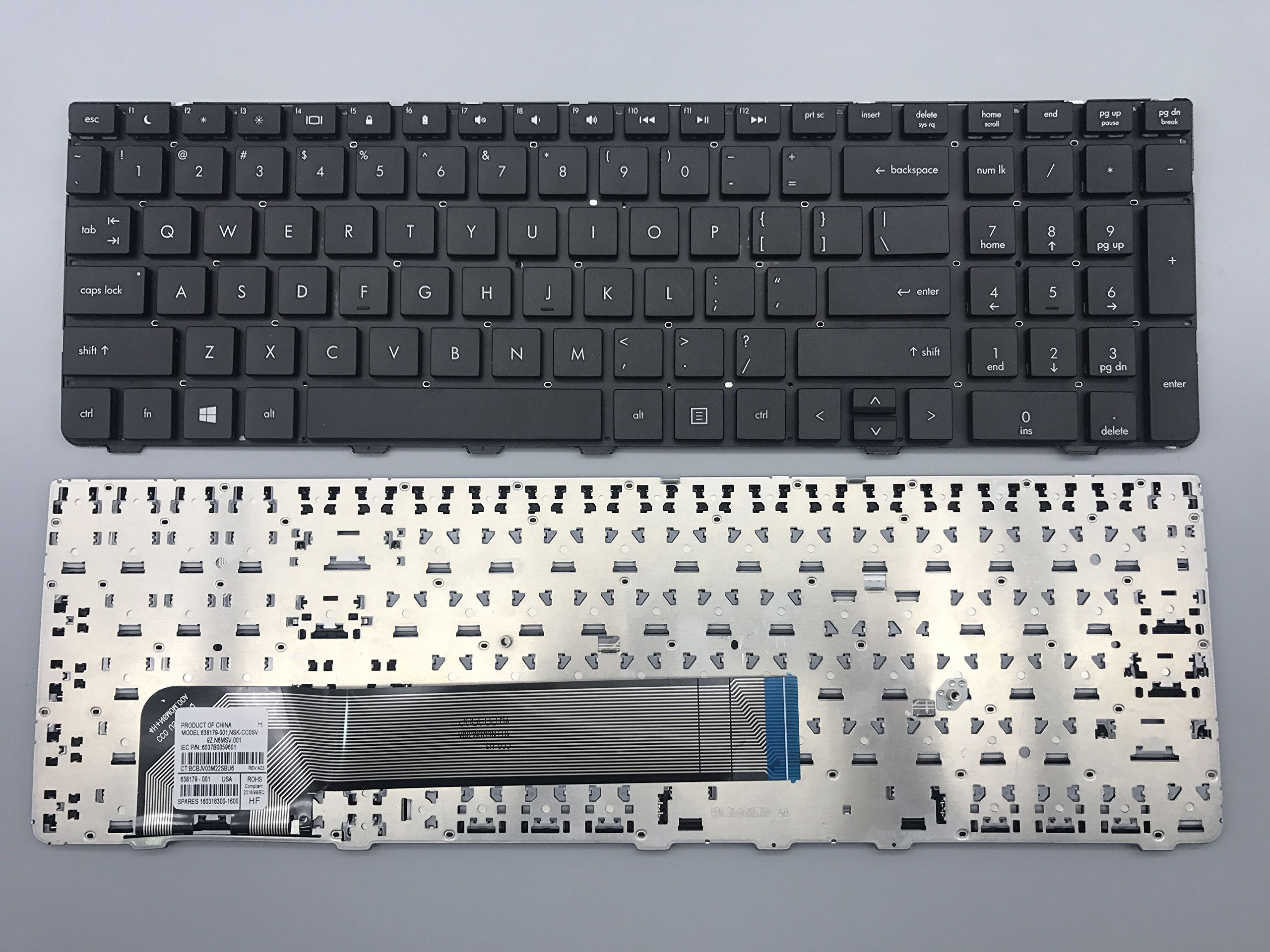 Get Quotations · keyboard go go go new original laptop keyboard replacement  for HP ProBook 4530s 4535s 4730s Series