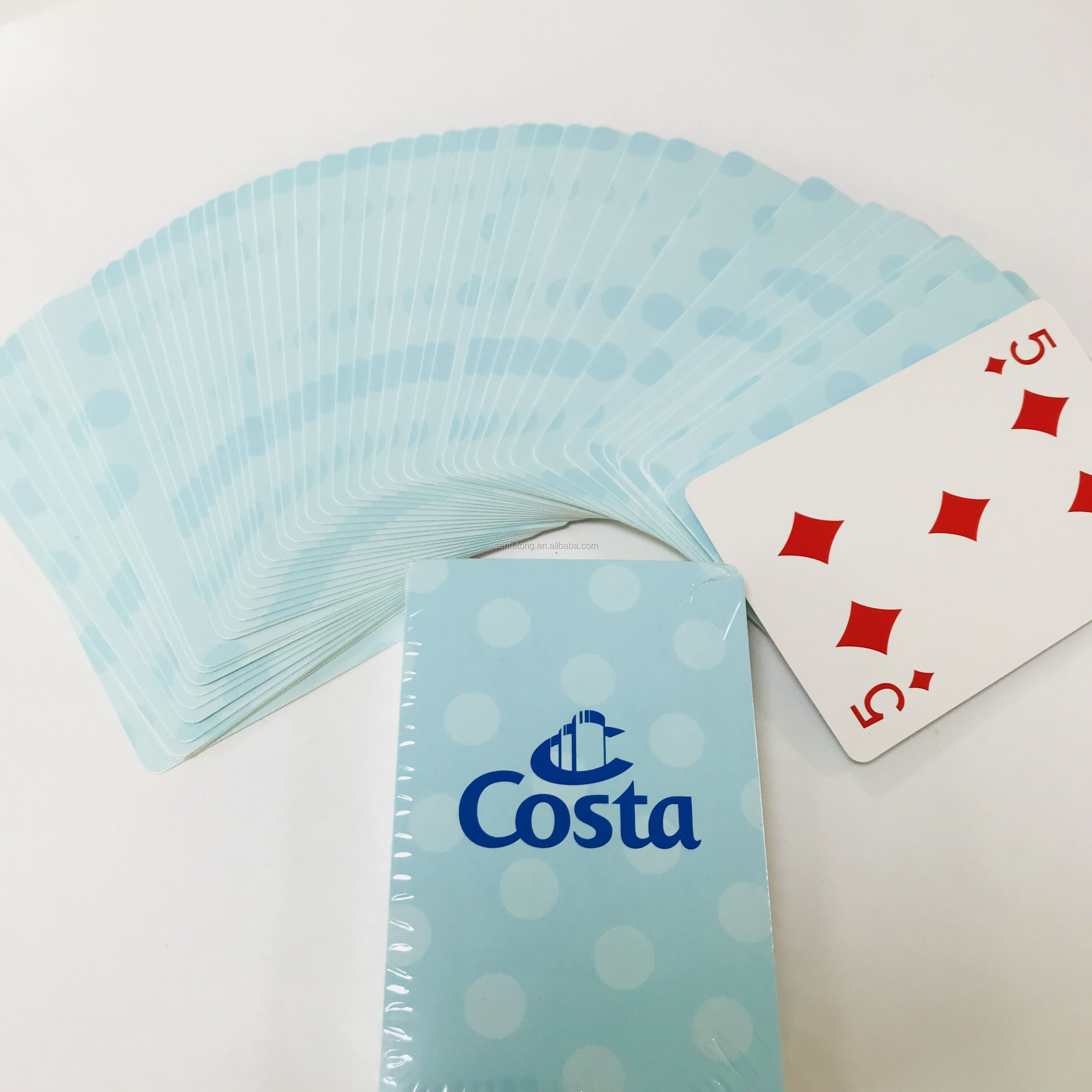custom design 280-300gsm paper materials playing cards game cards