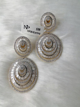 American Diamond Trendy Earrings Whole For Women African Jewelry Online