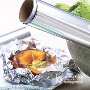 Al Bayader aluminium foil rolls