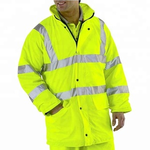 Safety Uniform Hi Vis Men Working Wear Jacket
