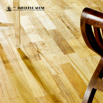 High Quality Engineered Wood Flooring Rubber Wooden Product On Alibaba