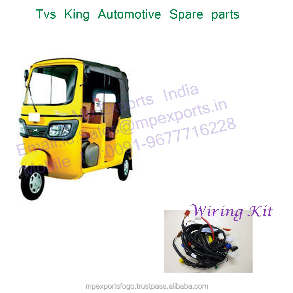 Tvs King Wiring Kit Auto Spares With High Quality Buy Piaggio Harness Tuk Spare Parts Distributorsa Good Value Of