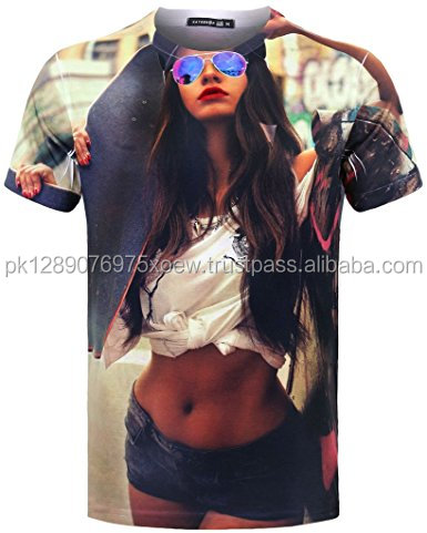 o neck custom all over print polyester sublimation man t shirts, full sublimation t shirt
