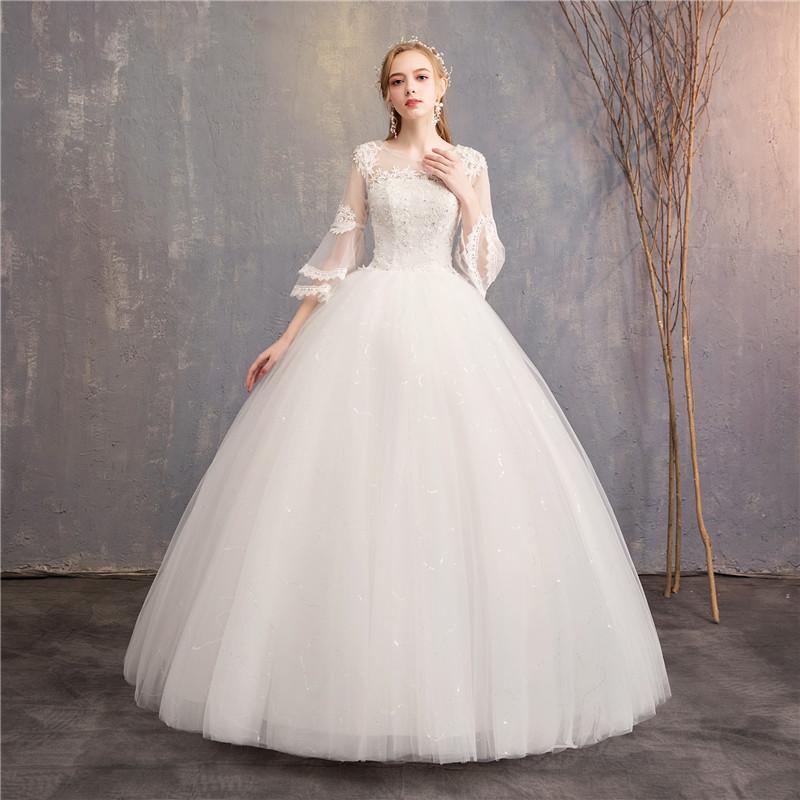 49f84668654ca مصادر شركات تصنيع جرس الأكمام فساتين الزفاف وجرس الأكمام فساتين الزفاف في  Alibaba.com