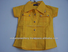 Kids tunic top exporter, children tunics tops manufacturer