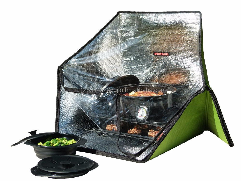 SunFlair Solar Panel Style Cooker