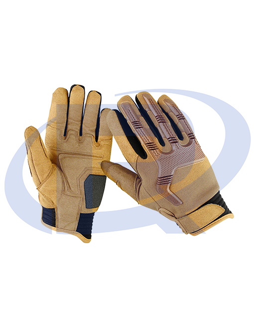 Police Duty Shooting Strong Grip Mechanic Working Gloves