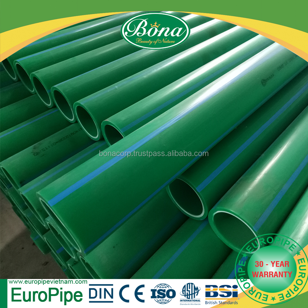 PN 16 20mm pp pipe ppr pipe for hot and cold water Europe and Middle East market plastic pipe fittings