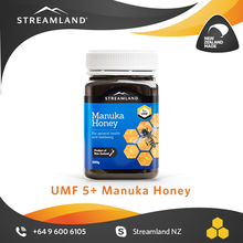 New zealand UMF certified Natural Premium Manuka UMF5+ honey