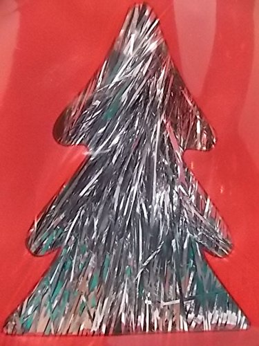 get quotations silver tinsel for christmas tree 18 inches 1000 strands icicles