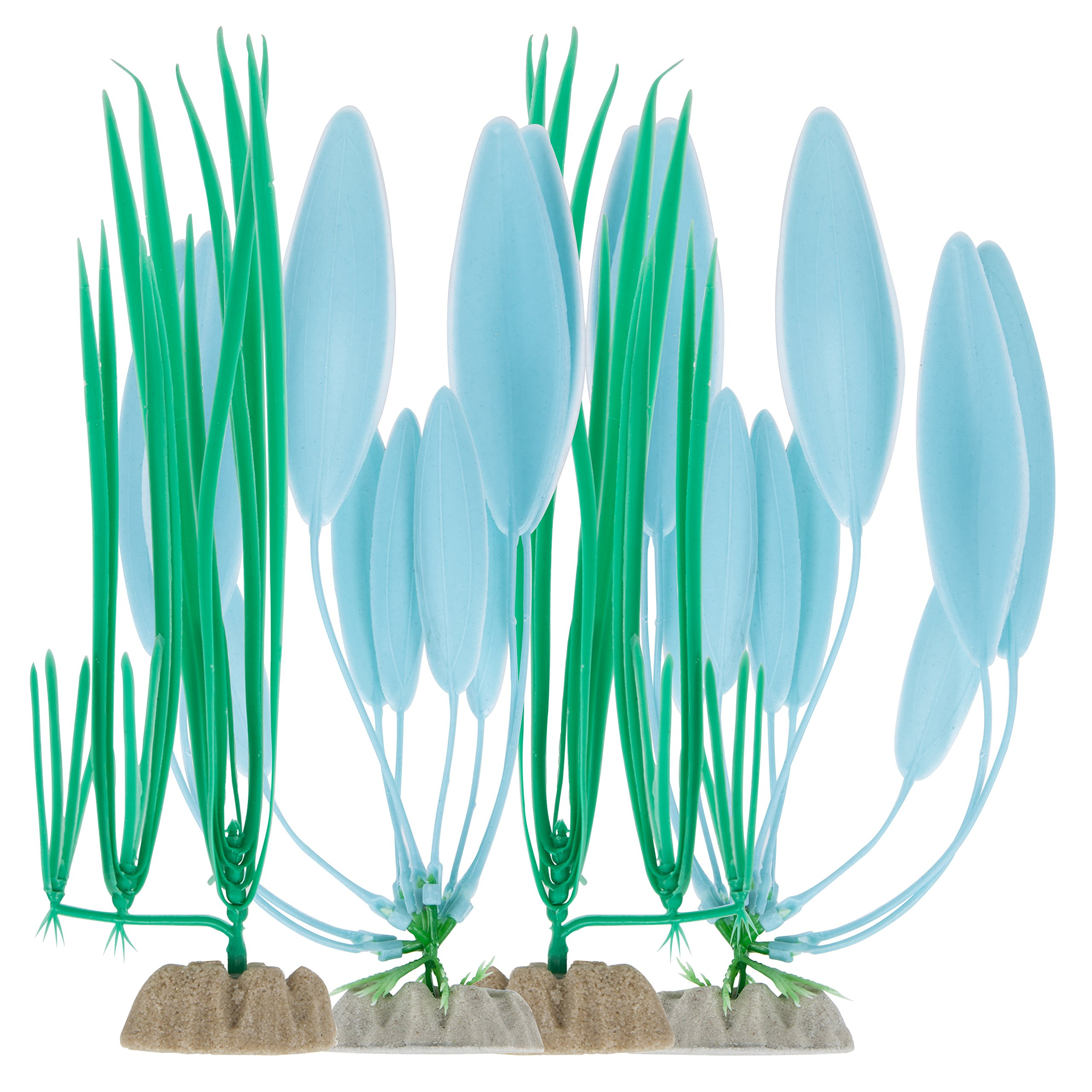 Tetra 26645 Wonderland Collection Plant, 4-Pack