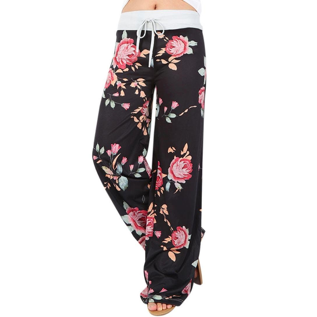 22f49e6858a5 Get Quotations · Women Floral Print Pants