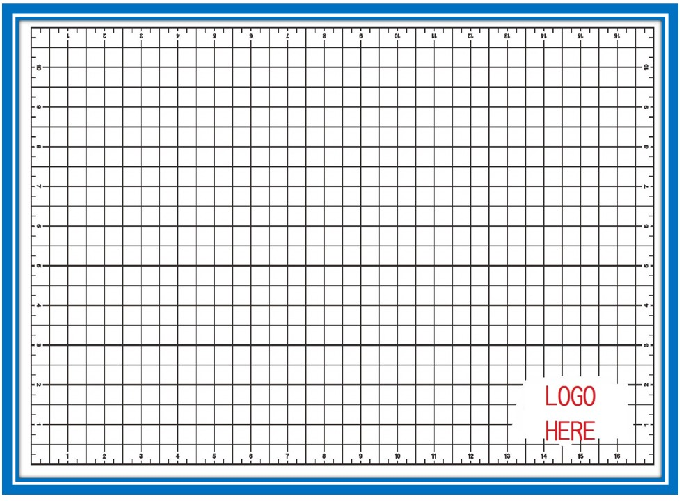 Office school supplies 24 X 36 Dressmaking blue Cutting Mat