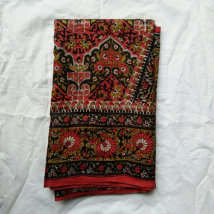 Beautiful printed vintage patola silk sarees for clothing