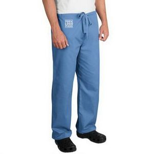 CornerStone Reversible Scrub Pant - 65% polyester & 35% cotton, has back pocket on both sides and comes with your logo